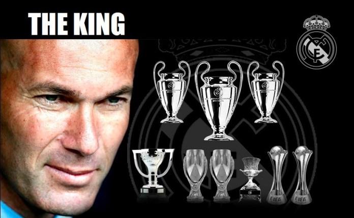 Los Títulos de Zidane en el Madrid