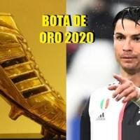 Clasificación Bota de Oro 2020. ¡Acutalizada!