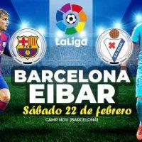 Alineación Barcelona-Eibar Jornada 25 | La Liga 2020