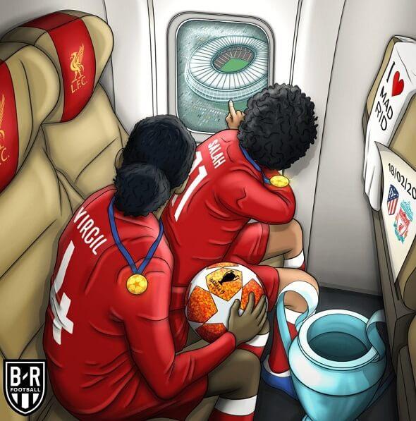 Memes Atlético-Liverpool Octavos Champions 2020