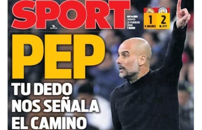Portadas Diarios Deportivos Jueves 27/02/2020