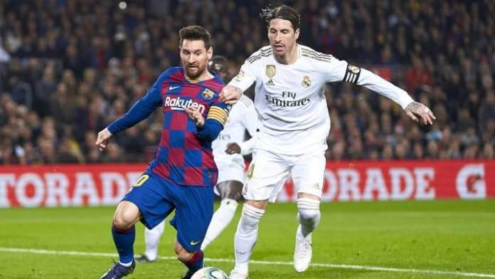 Alineación Real Madrid-Barcelona