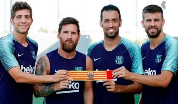 Los Capitanes del Barça No quieren recortes