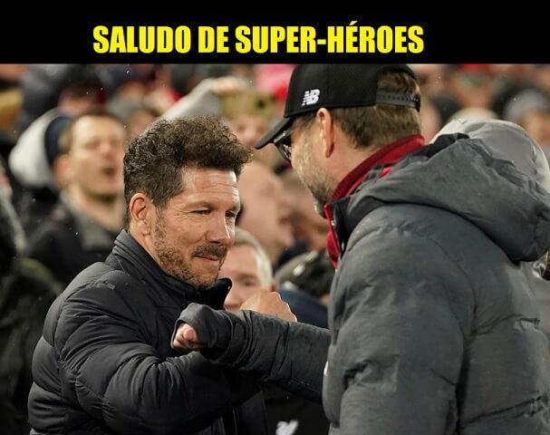 Memes Liverpool-Atlético Octavos Champions 2020