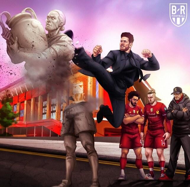 Memes Liverpool Atlético