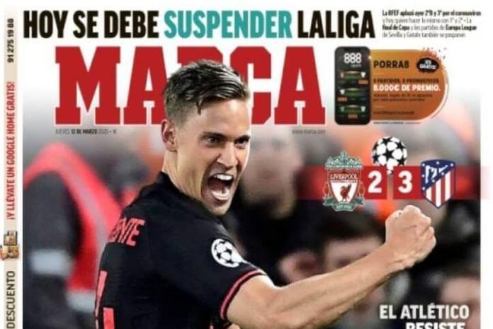 Portadas Diarios Deportivos Jueves 12