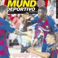 Portadas Diarios Deportivos Sábado 28/03/2020 | Marca, As, Sport, Mundo Deportivo