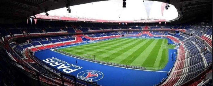 estadio de los principes paris sin publico vacio
