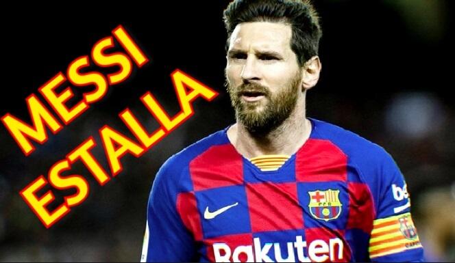 Messi Estalla en Instagram