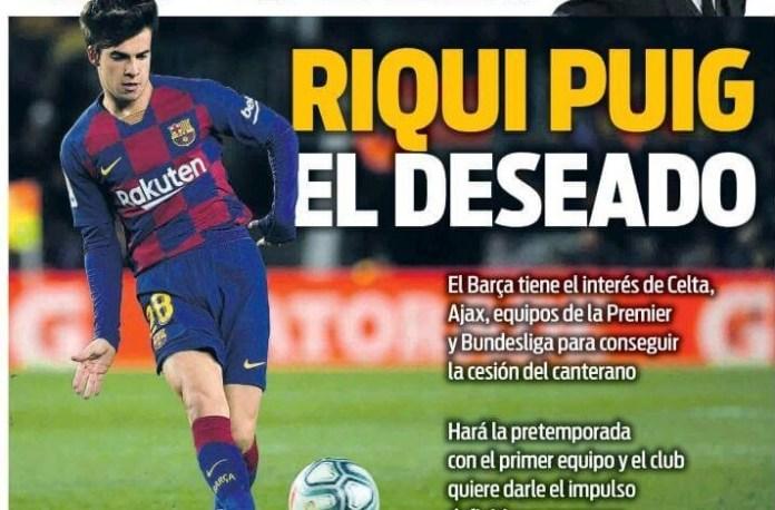 Portadas Diarios Deportivos Jueves 16