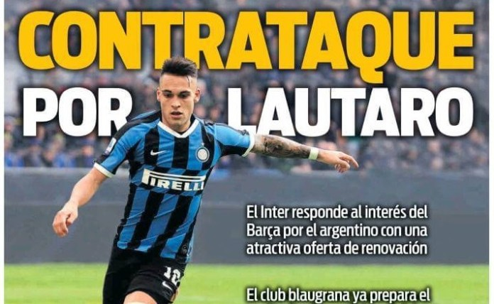 Portadas Diarios Deportivos Jueves 23/04/2020