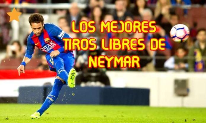 Mejores Goles de tiro libre de Neymar Jr