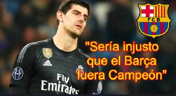 Sería injusto que el Barça fuera Campeón