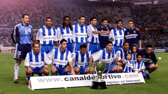 Deportivo la Coruña Campeón de liga 1999-2000 once