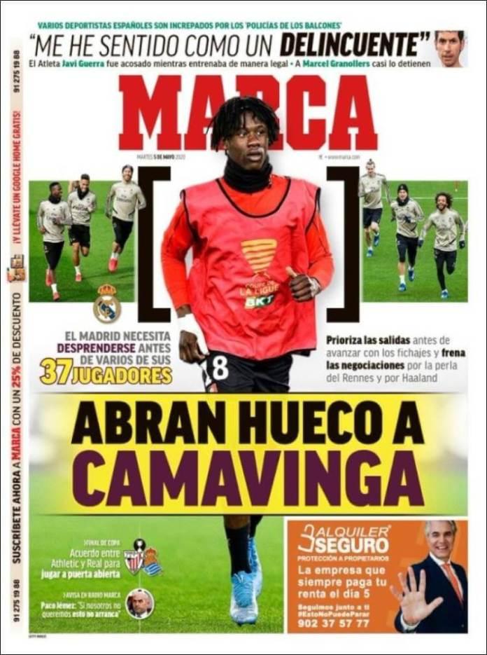 Portadas Diarios Deportivos Martes 5/05/2020
