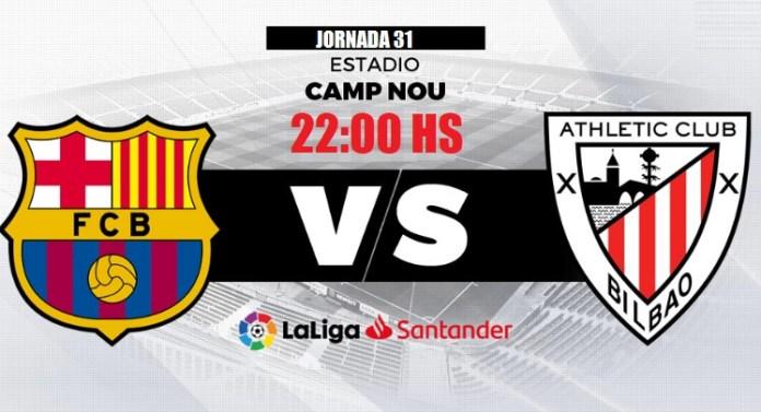 Alineación Barcelona-Athletic Jornada 31 | La Liga 2020