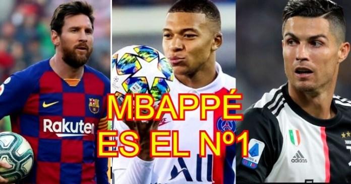 Mbappé destroza a Messi y Cristiano según el CIES