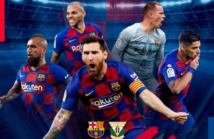 Alineación Barcelona-Leganés Jornada 29 | La Liga 2020