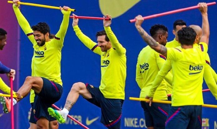 Messi vuelve a entrenar en Grupo y estará ante el Mallorca