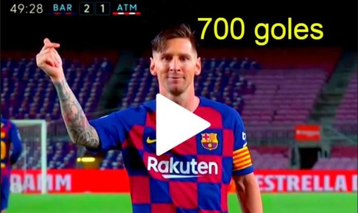 ¡Gol 700 de Messi con un penalti a lo Panenka!