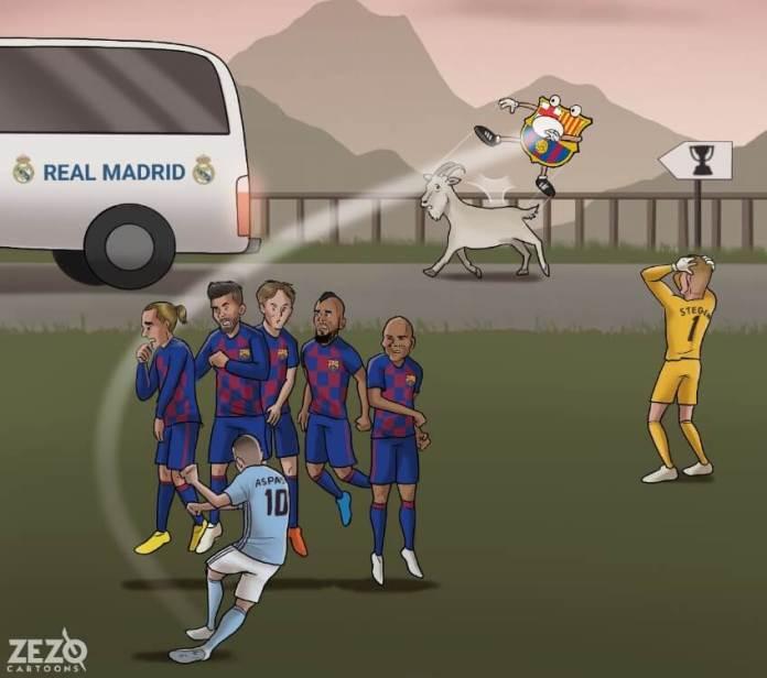 Memes Celta-Barcelona 2020 | Los mejores chistes
