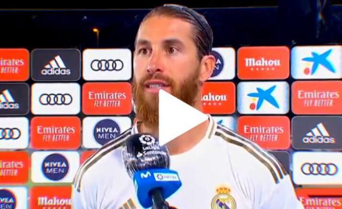 ¿El Real Madrid recibe favores arbitrales? Sergio Ramos responde