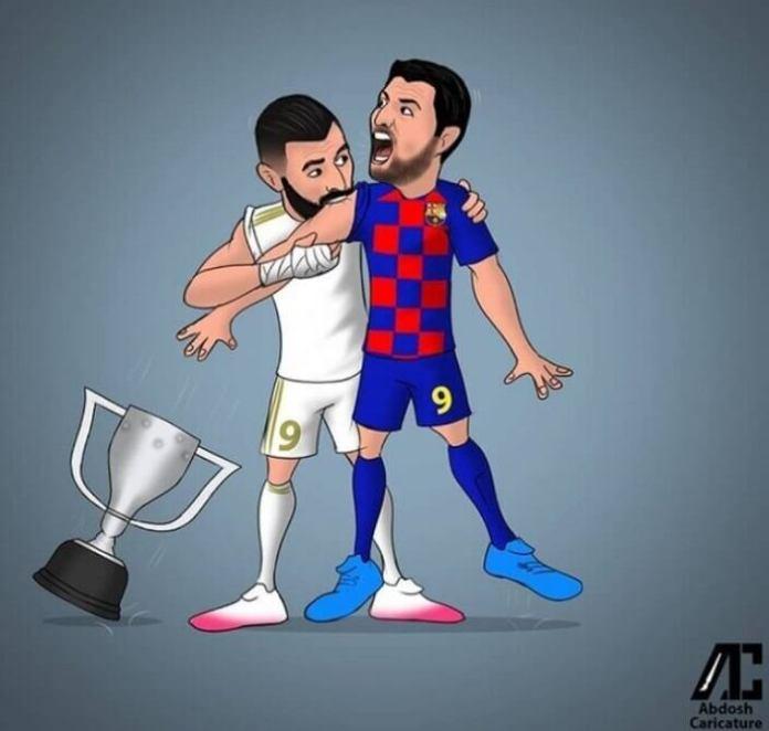 Memes del Madrid y el Barça en la definición de la Liga