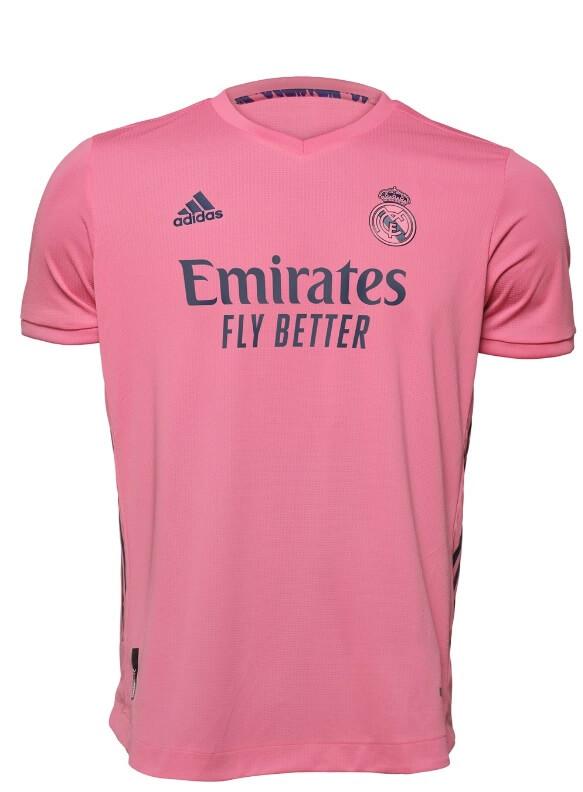 Camiseta Real Madrid 2020-2021 Segunda equipación rosa