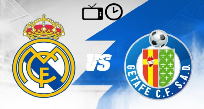 ¿Dónde Televisan el Real Madrid Hoy? Real Madrid-Getafe