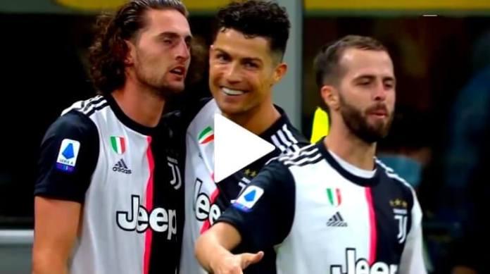 Gol de Cristiano Ronaldo ante el Milan que quiere la Bota de Oro