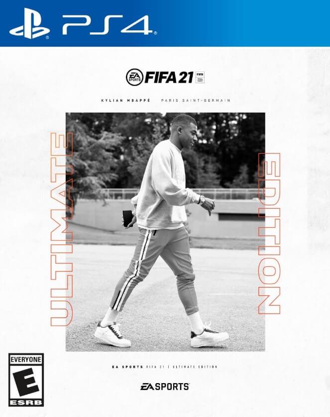 Portada FIFA21 Ultimate Edition