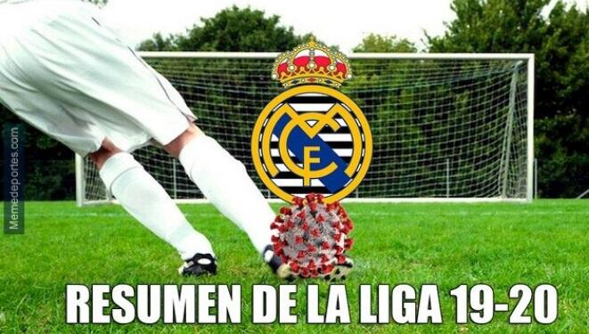 Memes Real Madrid-Alavés 2020
