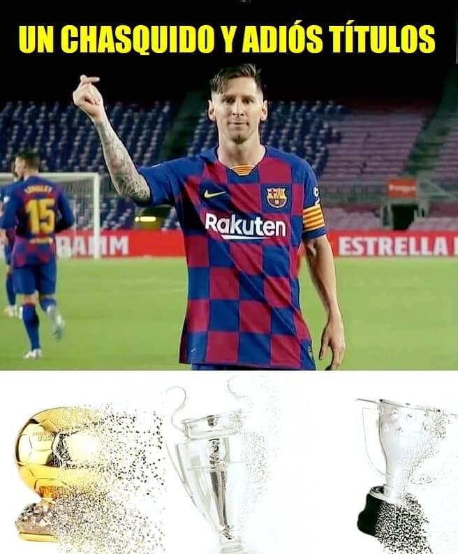 Memes Villarreal-Barcelona 2020
