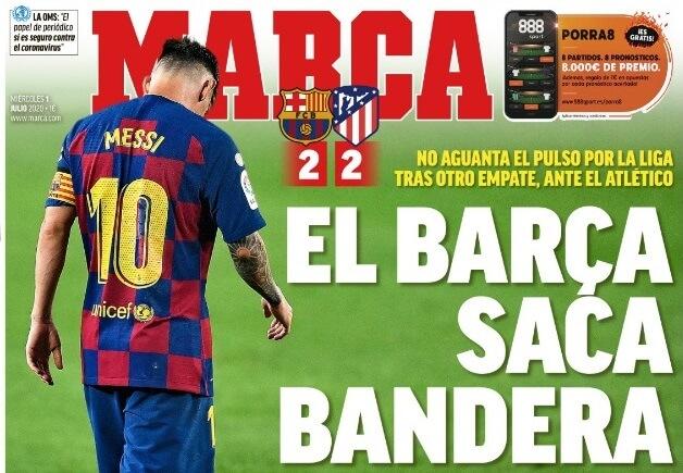 Portadas Diarios Deportivos Miércoles 1/07/2020