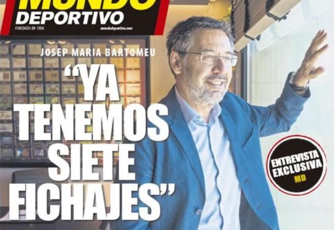 Portadas Diarios Deportivos Domingo 26/07/2020
