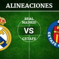 Alineación Real Madrid-Getafe Jornada 33 | La Liga 2020