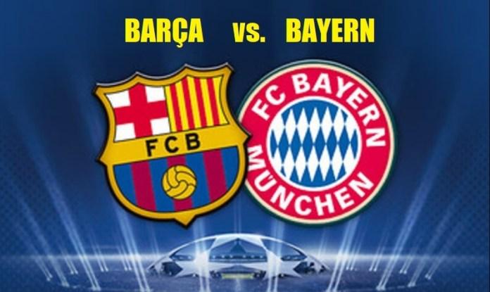 Alineación Barcelona-Bayern cuartos Champions