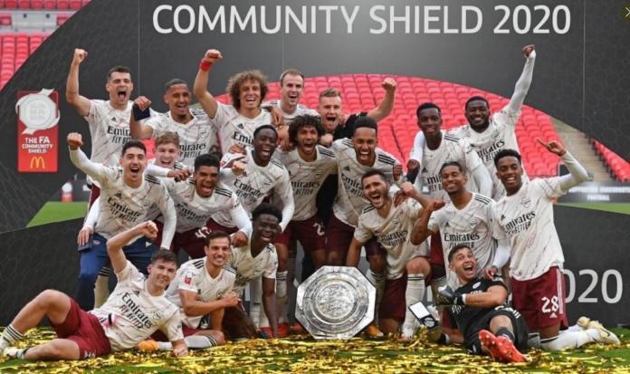 El Arsenal Campeón de la Community Shield 2020
