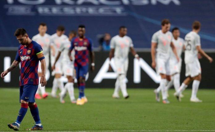 La máquina del Bayern liquida 4-1 al Barça en el primer tiempo