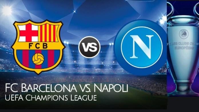 Alineación Barcelona-Napoli Champions 2020