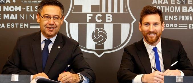 Las 5 Razones por las que Messi deja el Barcelona
