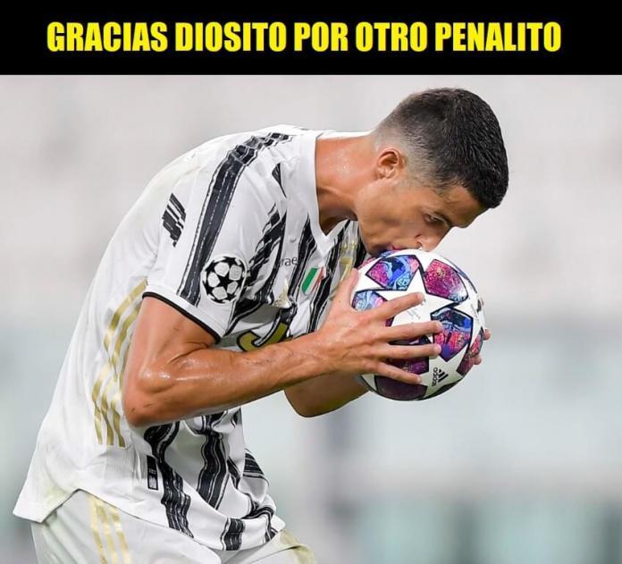 MEMES CRISTIANO RONALDO PENALDO