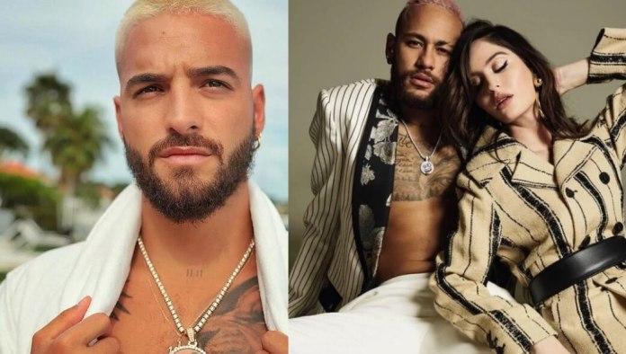 Neymar se burla de Maluma y cantante cierra su Instagram