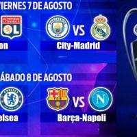 Octavos Champions League 2020-Vuelta | Calendario, Horarios y TV