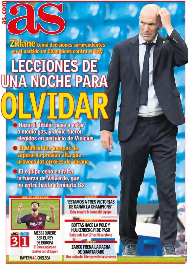 Portadas Diarios Deportivos Domingo 9/08/2020