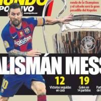 Portadas Diarios Deportivos Martes 4/08/2020 | Marca, As, Sport, Mundo Deportivo