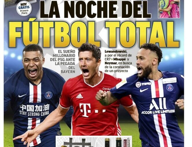 Portadas Diarios Deportivos Domingo 23/08/2020