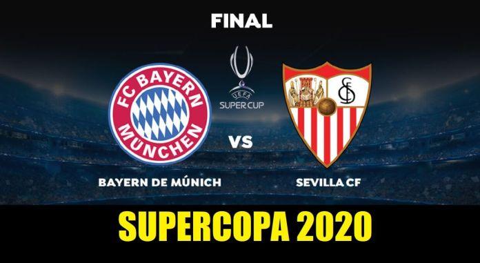 Bayern-Sevilla Supercopa 2020
