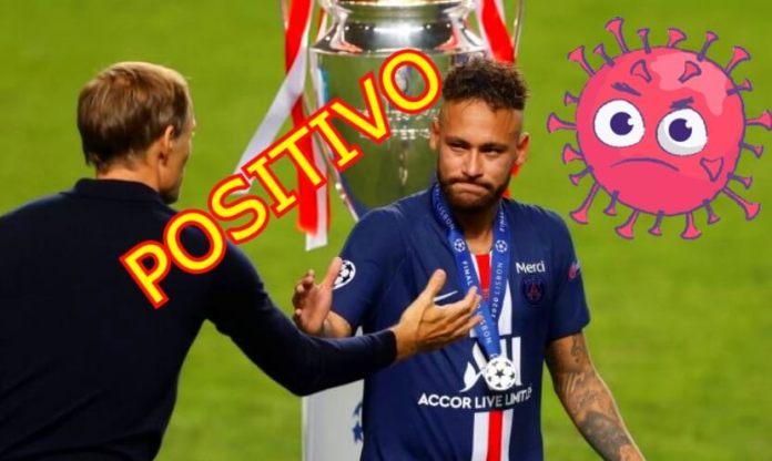 Neymar positivo en Coronavirus