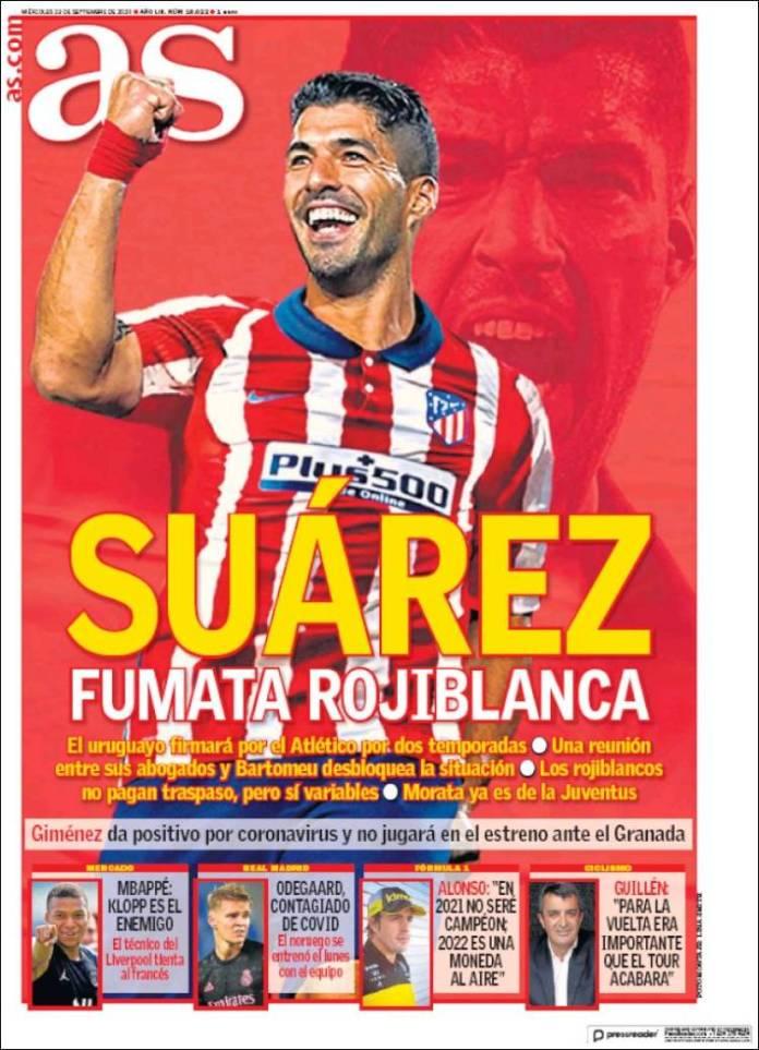 Portadas Diarios Deportivos Miércoles 23/09/2020